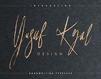 Yusuf Kral [Free Font]