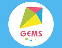Logo/Identity of Gems English School for children