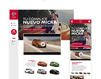 Nissan - Ux -DA/UI Design