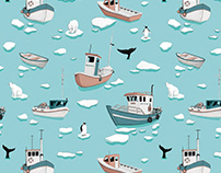 Arctic Pattern - illustrations & pattern design
