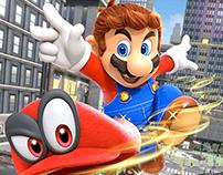 Super Mario Odyssey European Marketing