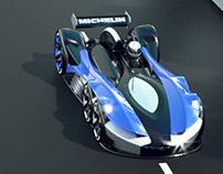 Six wheel LMP 2030
