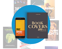 500 PSD Book Cover Templates