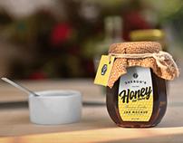20+ Super Realistic Honey Jar Mockup Templates