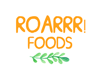 ROARRR! Foods Logo Design