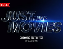FREE | Cinematic Text Effect