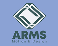 REDISEÑO DE LOGO ARMS MOTION & DESIGN