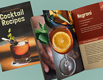 36-Page Cocktail Recipe Book