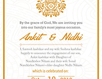 Invitation Card Design - Byteknight Creations Work