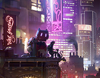 Neon Nights - vincent lefevre