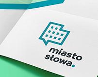 Miasto Słowa Festival 2015 / branding