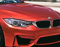 BMW M4 - CGI & Retouching