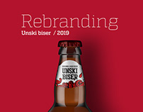 Unski Biser Beer Label Redesign