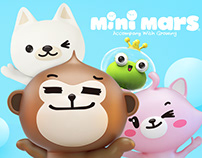 Brand image and cartoon image design of MiniMars parent