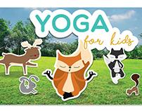 Yoga for kids - Character Design