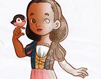 Sketchy Snow White