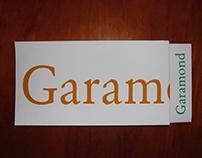 Cartaz Desdobrável | Garamond