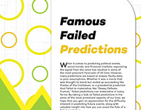Famous Failed Predictions Exhibit Posters