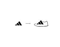 Adidas Logo Shoe