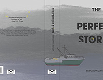 The Perfect Storm Novel Redesign Mockup