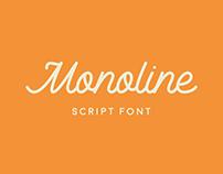Monoline Script - Font