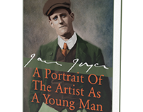 Book Cover Design: A Portrait of The Artist
