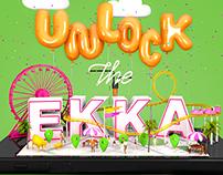 EKKA Festival Branding