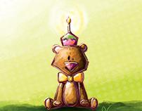 Birthday little bear