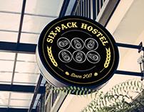 Six-Pack Hostel - Branding