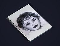 Pencil Sketch Drawings of People