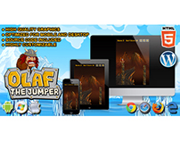 HTML5 Game: Olaf the Jumper