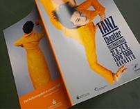 Branding und Werbung für Tanztheater-Festival