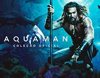 Landing Page Coleção Oficial Aquaman