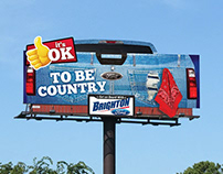 "Brighton Ford ""It's OK"" Billboard Campaign"