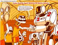 """""""VELHA GLÓRIA"""" - COMIC STORY FOR GERADOR MAGAZINE"""