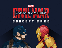 Civil War : concept card