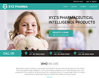 Pharma Website UI/UX