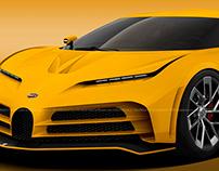 2020 Bugatti Centodieci Jaune