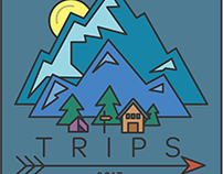 First Year Trips stickers