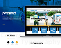 Pavement Corporation - Branding & Website