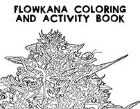 FLOWKANA: Coloring & Activity Book
