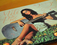 Diseño de CD - Artista de Pop - Mili de Pro