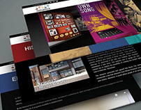 National Museum of African American Music - Web Design