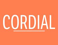 Cordial Magazine Logo and Design Work