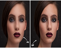 Retouch (Before & After)