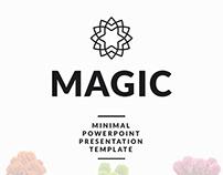 Magic - Minimal PowerPoint Presentation Template