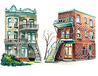 Watercolor Architeture