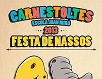 Cartel Carnestoltes Escolar