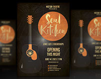 Soul Kitchen - Flyer Design!