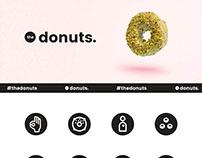 the donuts. (in progress)